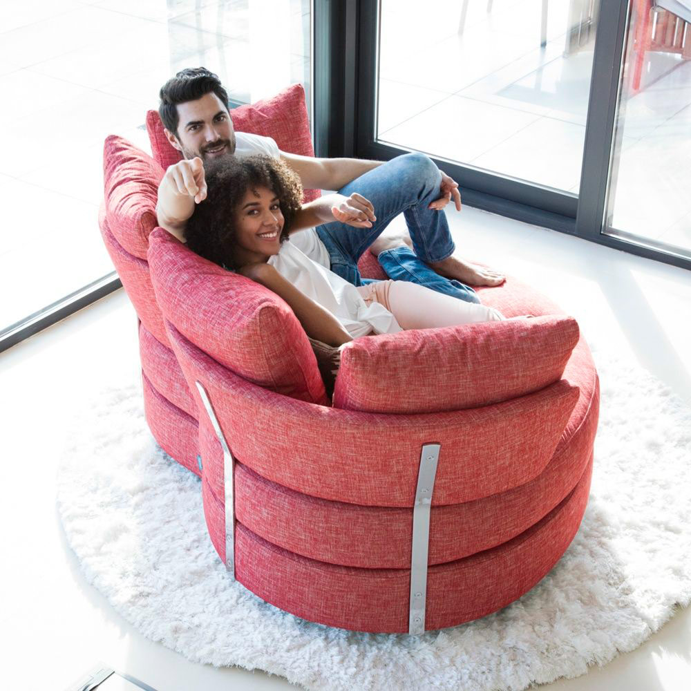 Tonalidades rojo sofas y sillones Fama 06