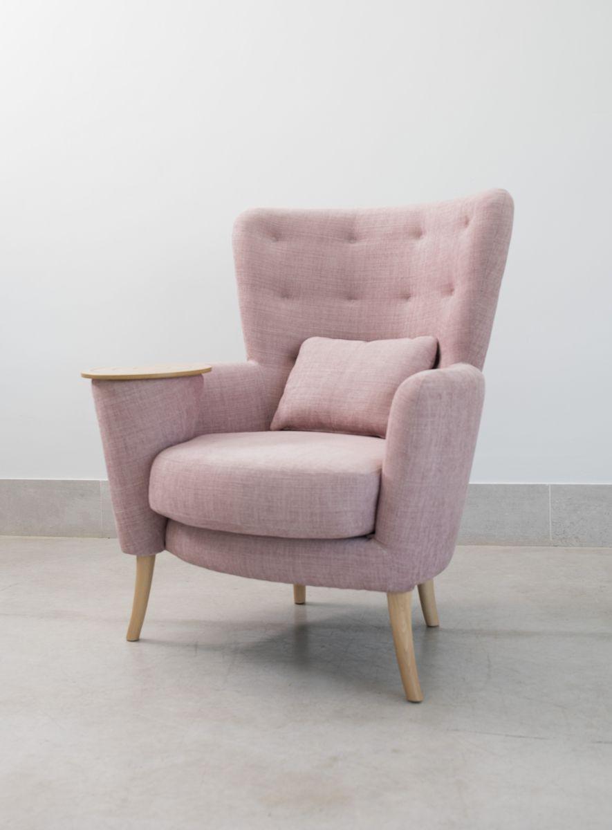 Tonalidades rosas sofas y sillones Fama 01