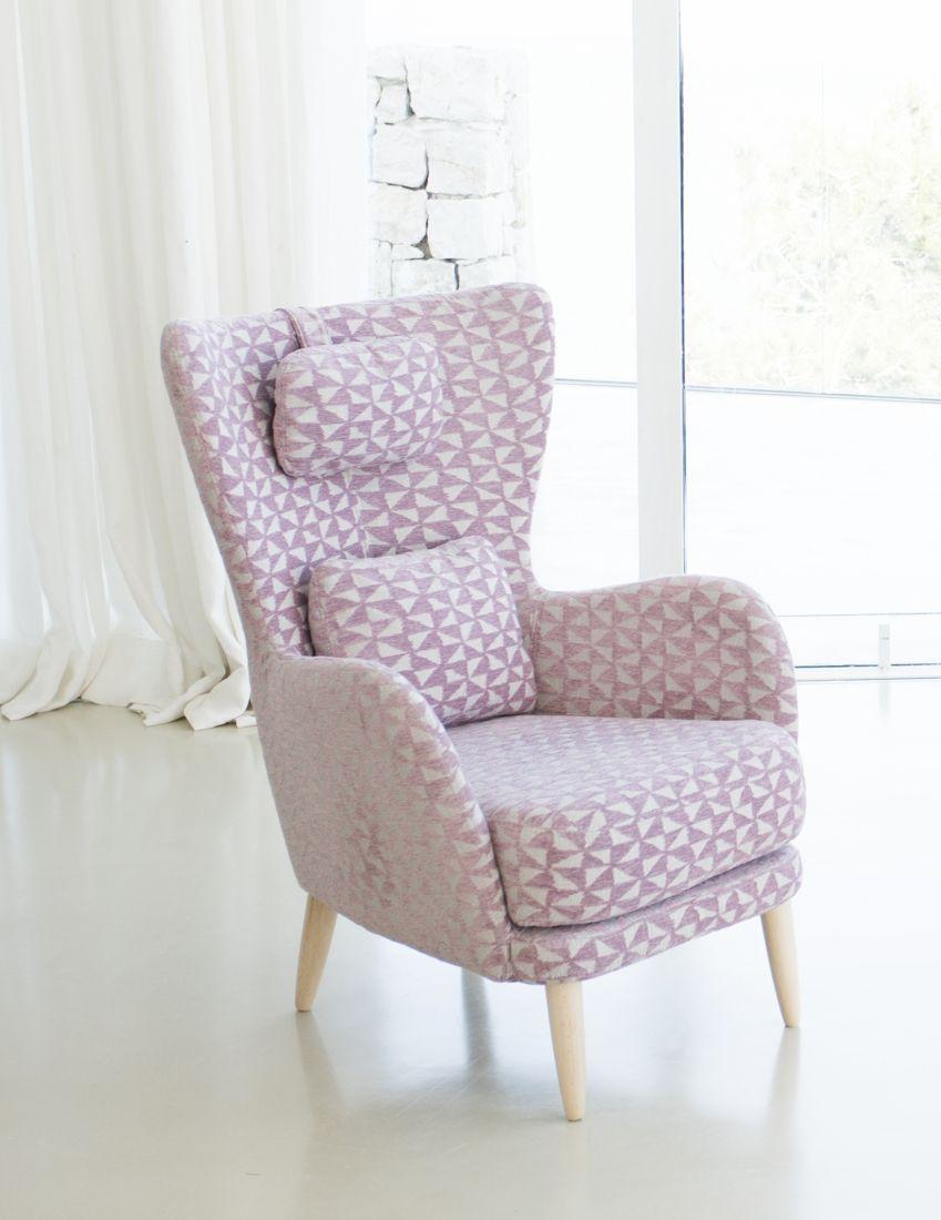 Tonalidades rosas sofas y sillones Fama 09