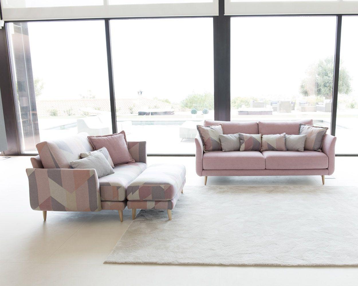 Tonalidades rosas sofas y sillones Fama 11