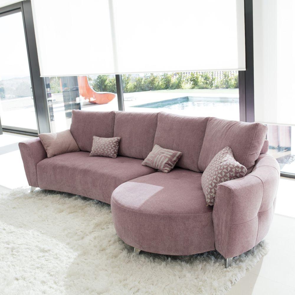 Tonalidades rosas sofas y sillones Fama 12