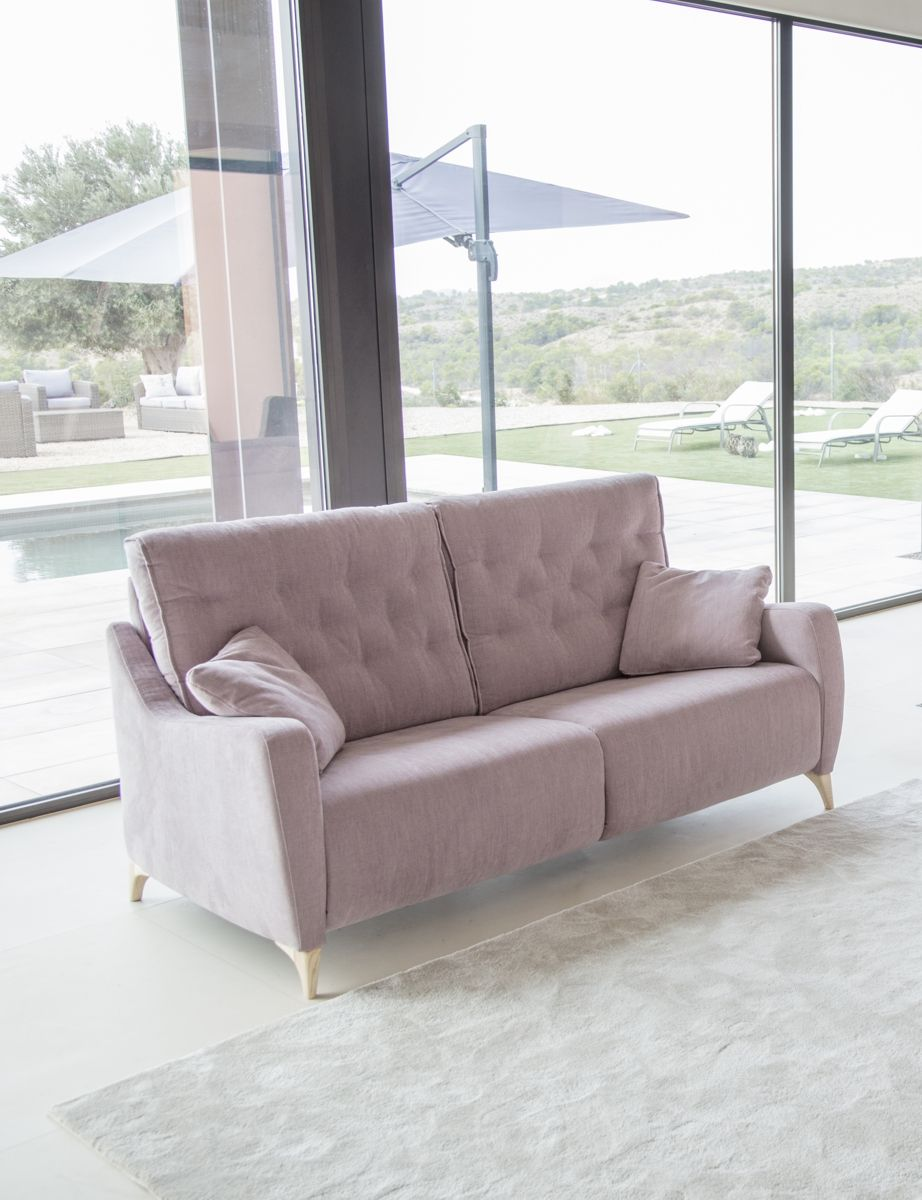 Tonalidades rosas sofas y sillones Fama 17