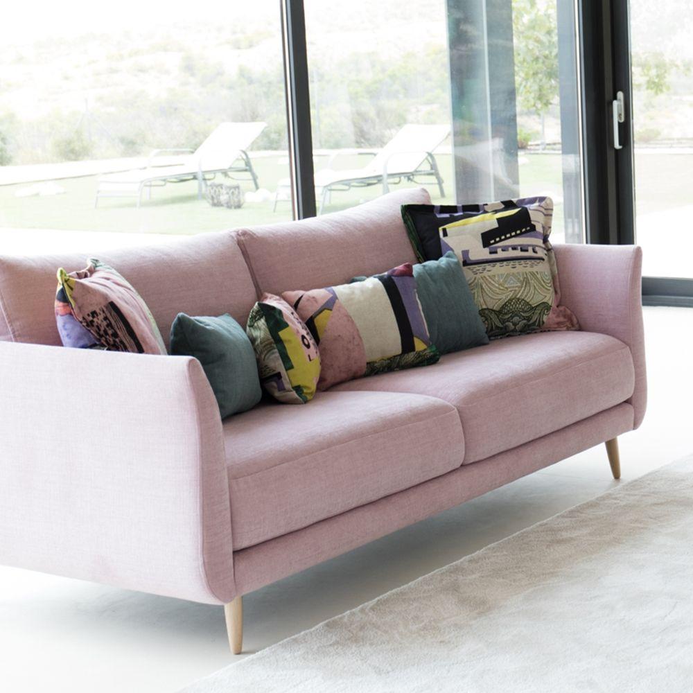 Tonalidades rosas sofas y sillones Fama 19