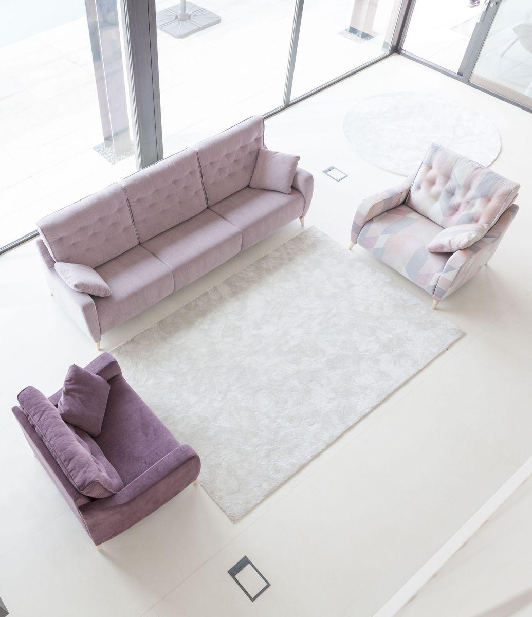 Tonalidades rosas sofas y sillones Fama 21