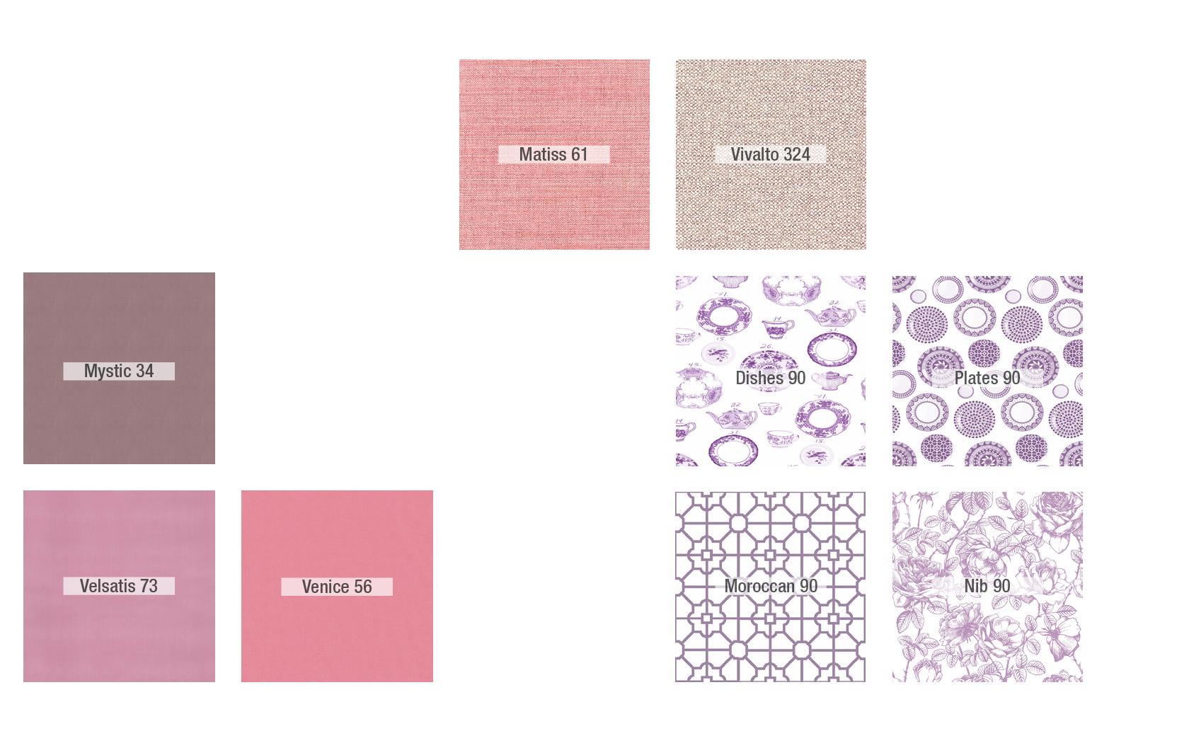 Inspiración Rosa - Tapicerias 2