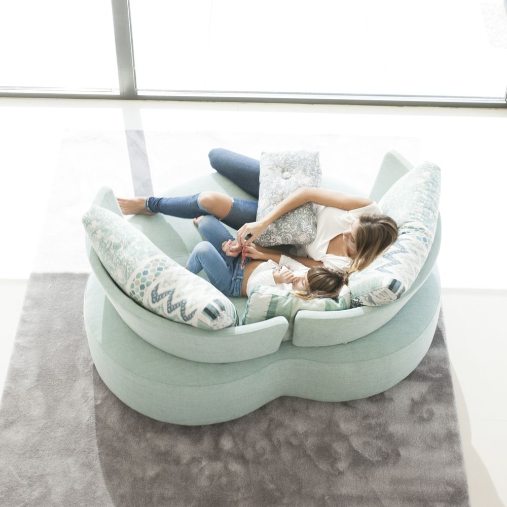 Tonalidades verdes sofas y sillones Fama 16