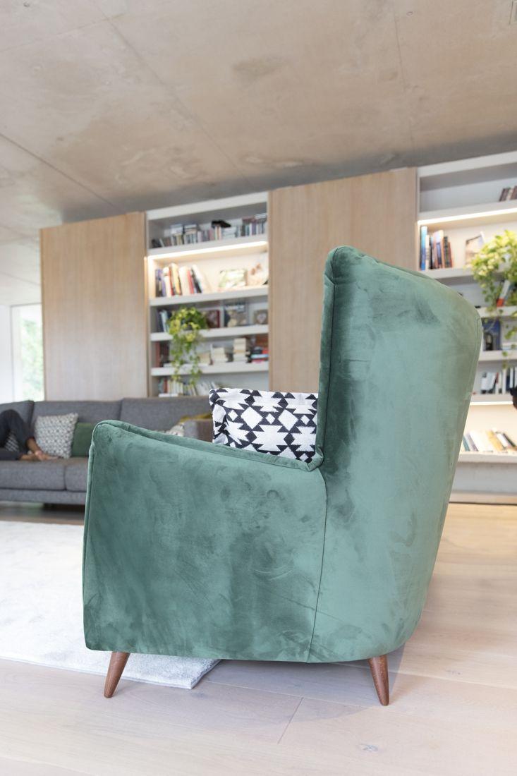 Tonalidades verdes sofas y sillones Fama 18