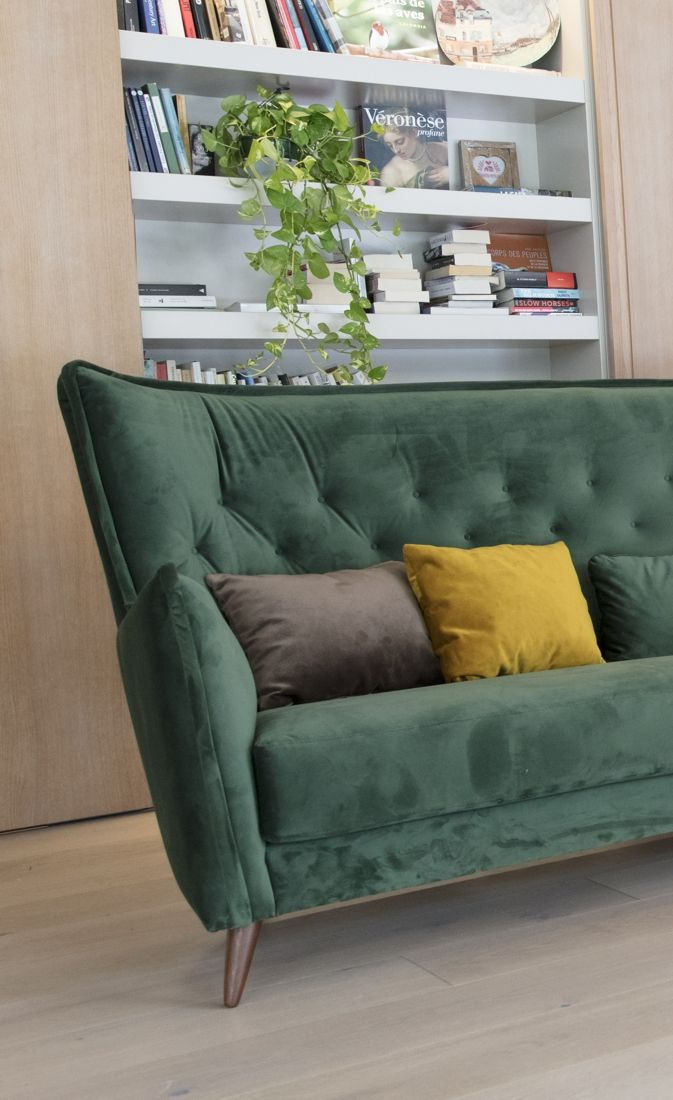 Tonalidades verdes sofas y sillones Fama 19