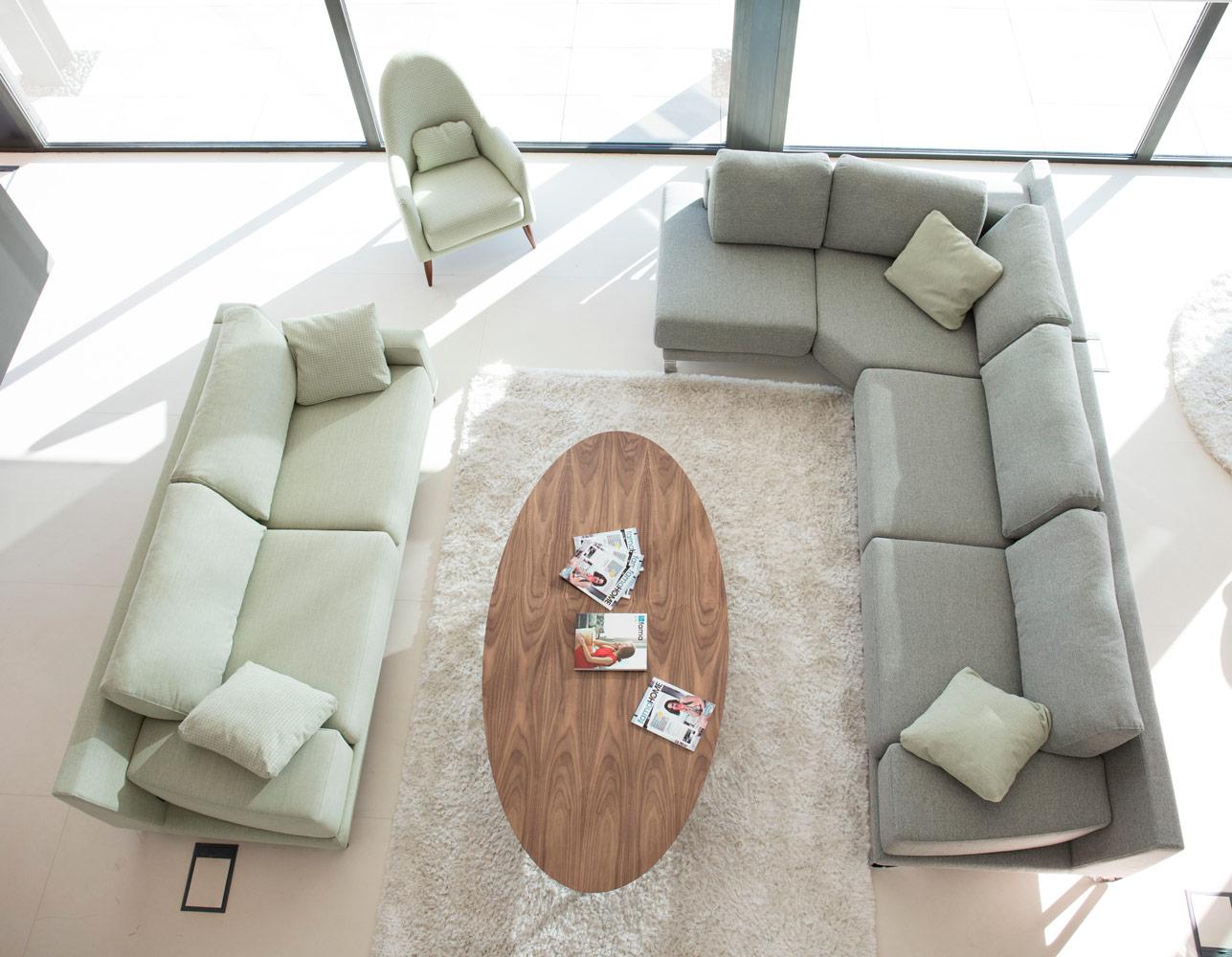 Tonalidades verdes sofas y sillones Fama 01