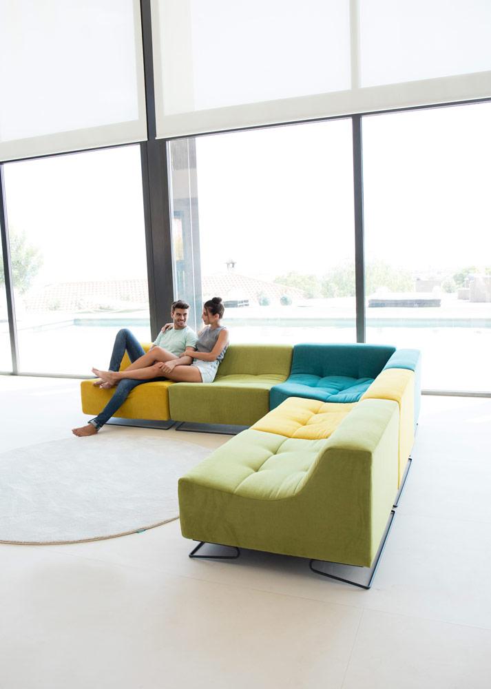 Tonalidades verdes sofas y sillones Fama 06