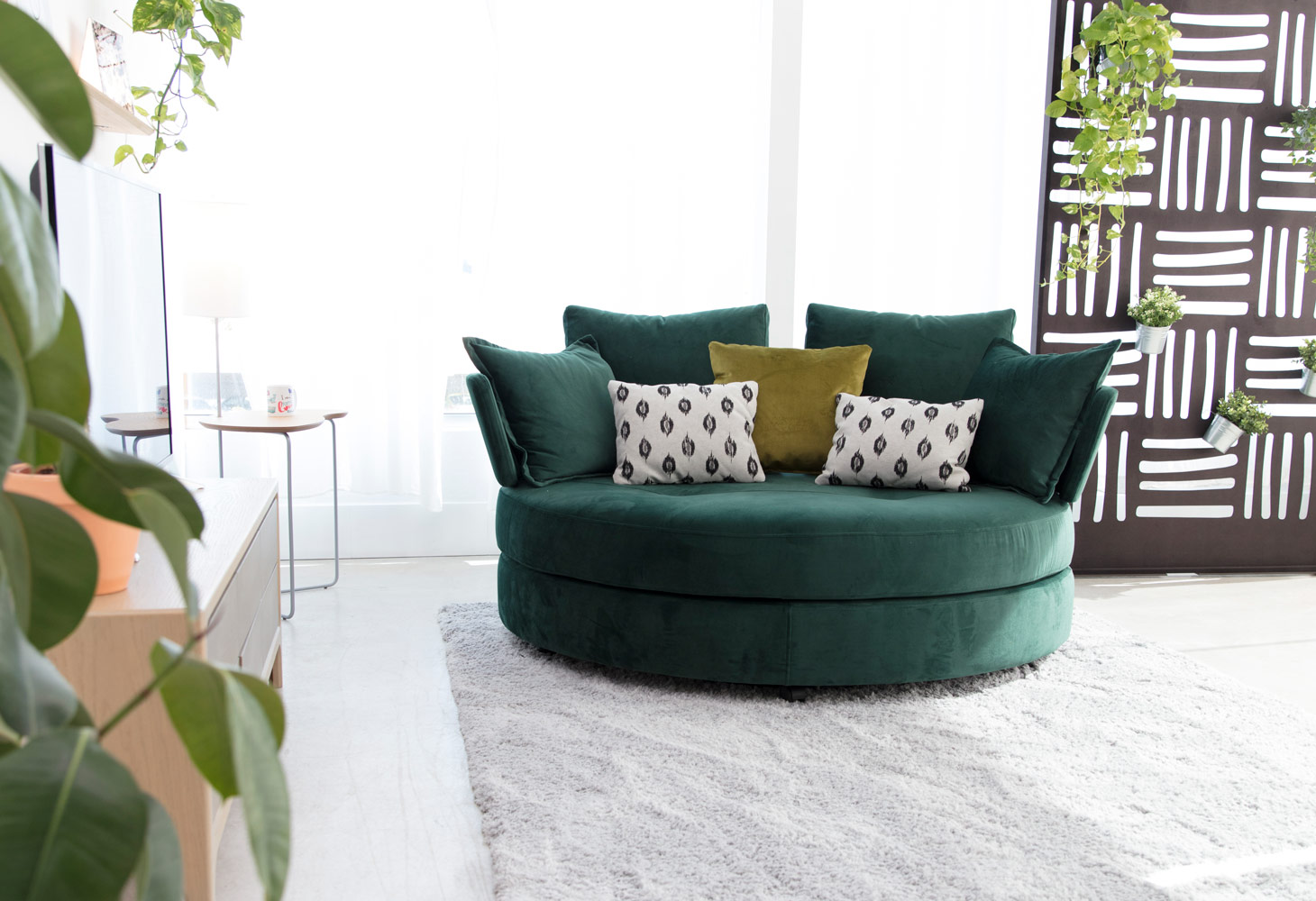 Tonalidades verdes sofas y sillones Fama 07