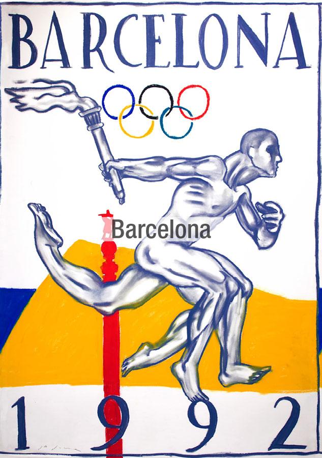 Barcelona La Movida tela Fama 2021