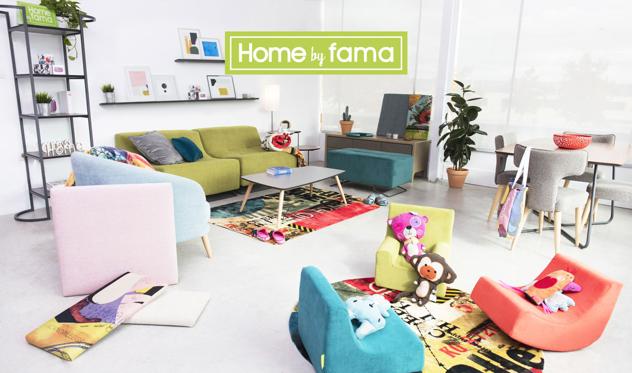 Presentación nueva tienda online HomeByFama
