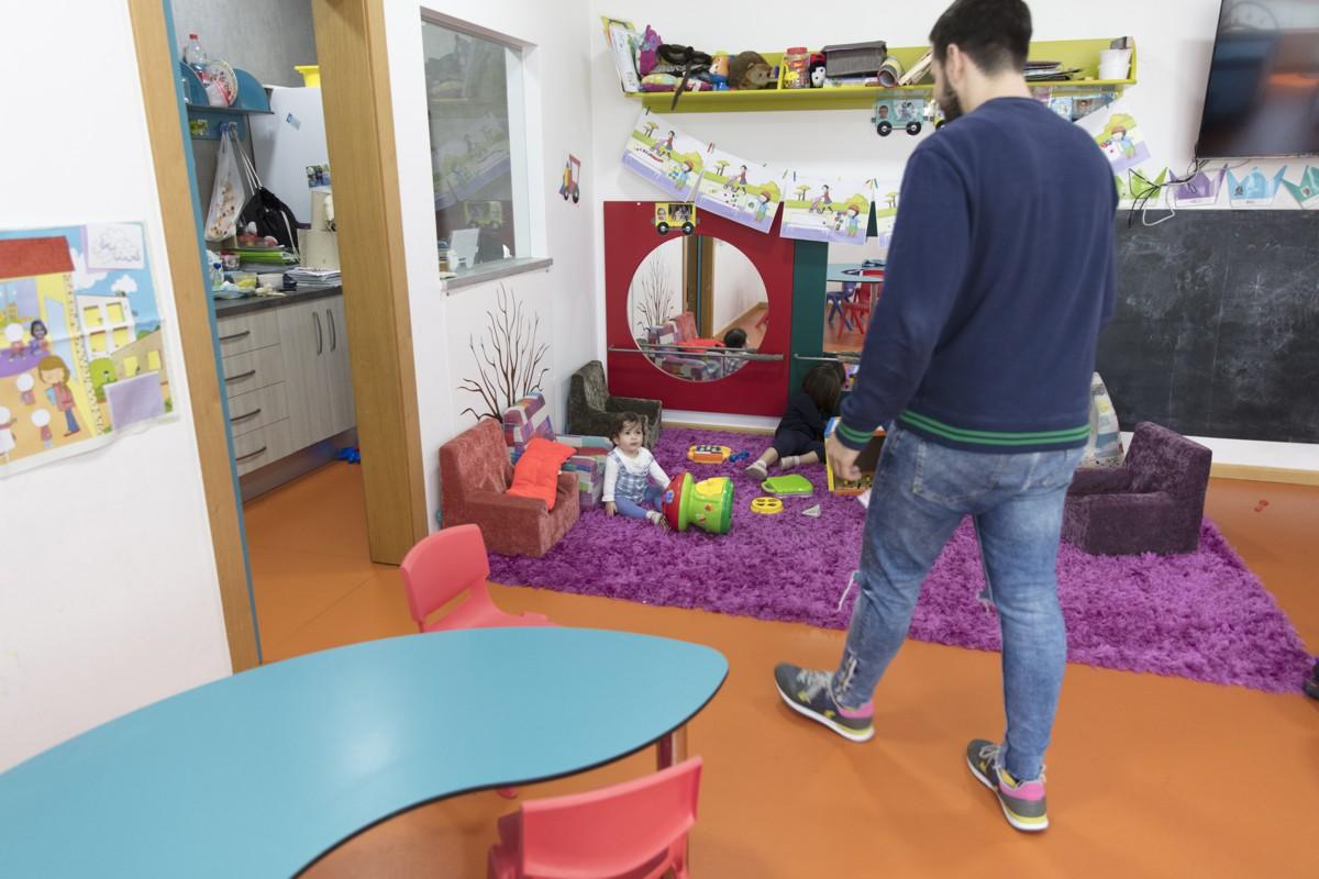 Escuela infantil en fábrica