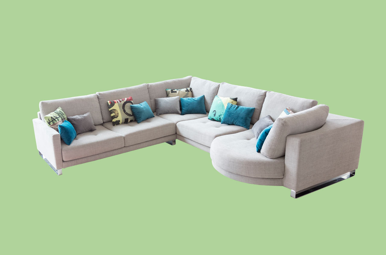 sofa opera venetian y azul fama