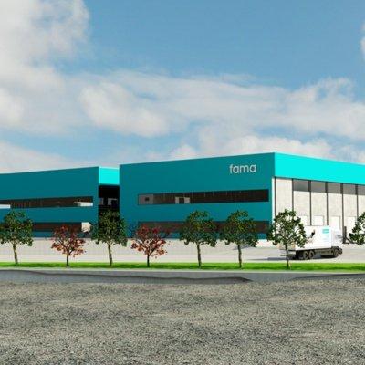 Fama Sofas beginnt mit dem Bau seiner neuen Fabrik