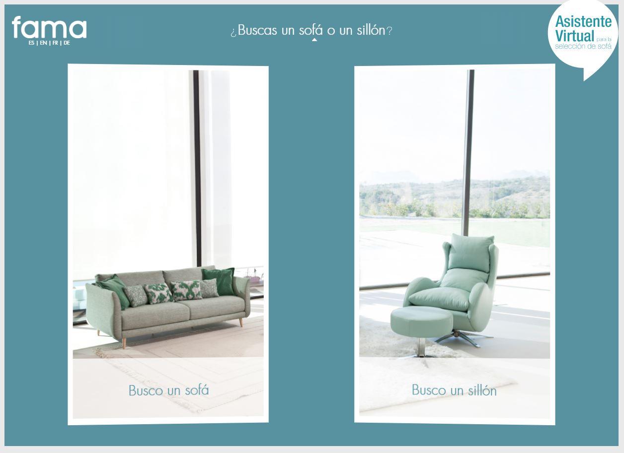 Asistente Virtual para la elección de sofá