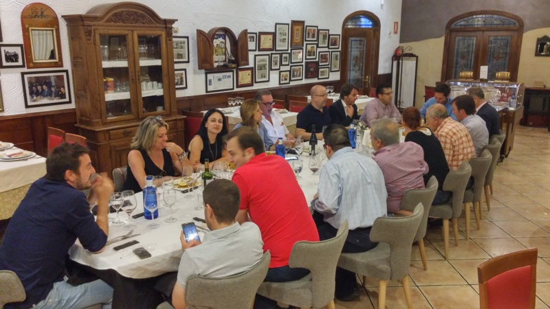 Cena en restaurante Los Chispos