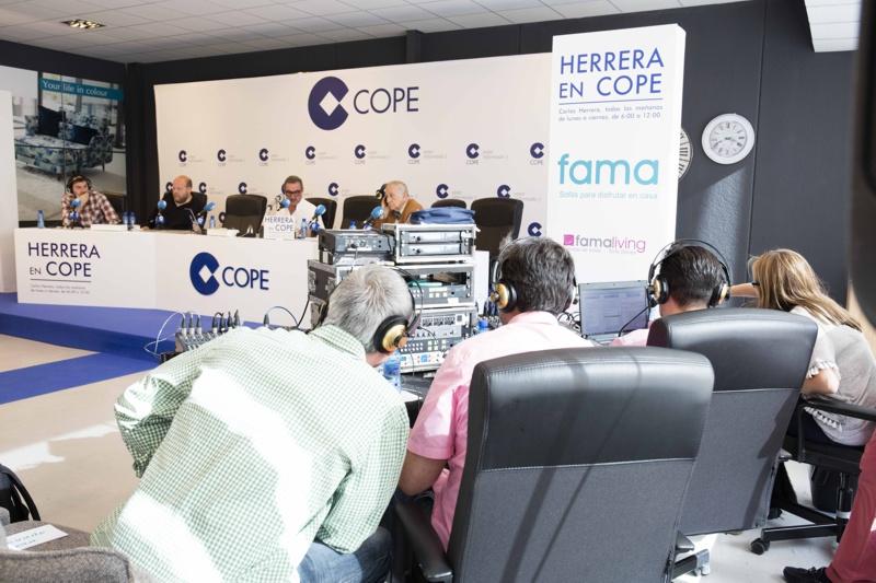 Mesa de sonido Herrera en Cope