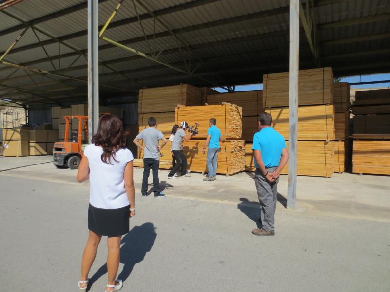 Fabricando: Made in Spain en Fama - Almacén madera