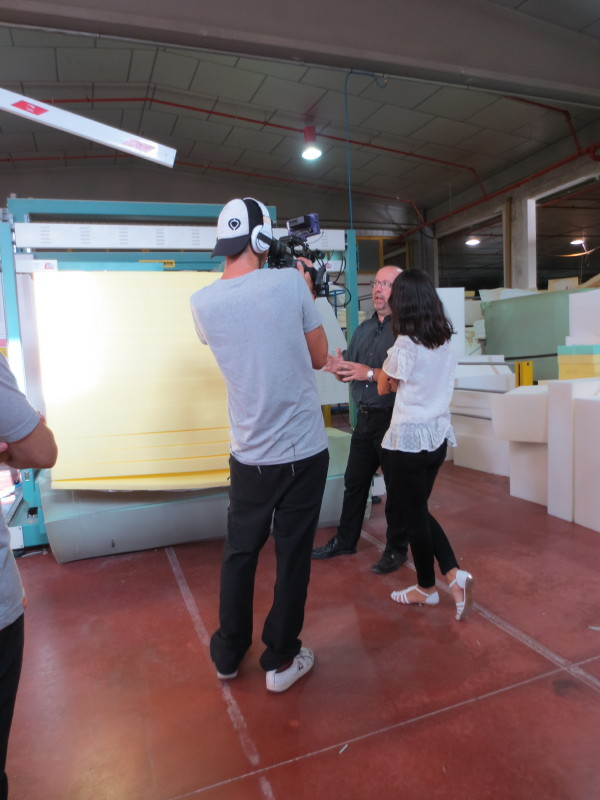 Fabricando: Made in Spain en Fama - Sección corte goma