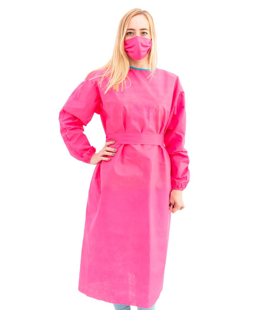 Bata Basic frente rosa