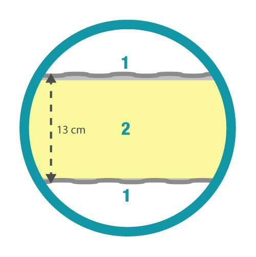 Estructura colchón ignífugo