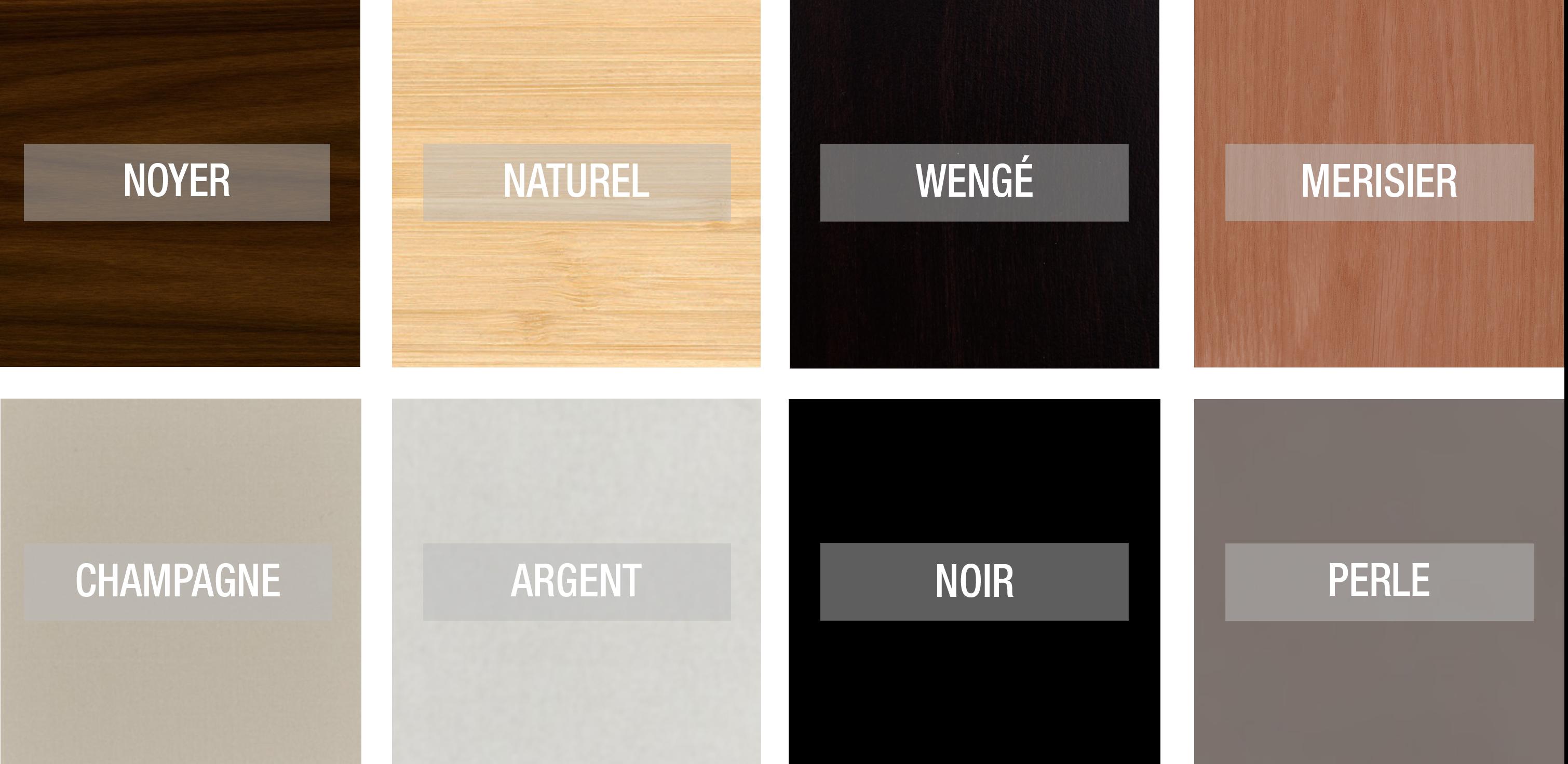Colores madera torico
