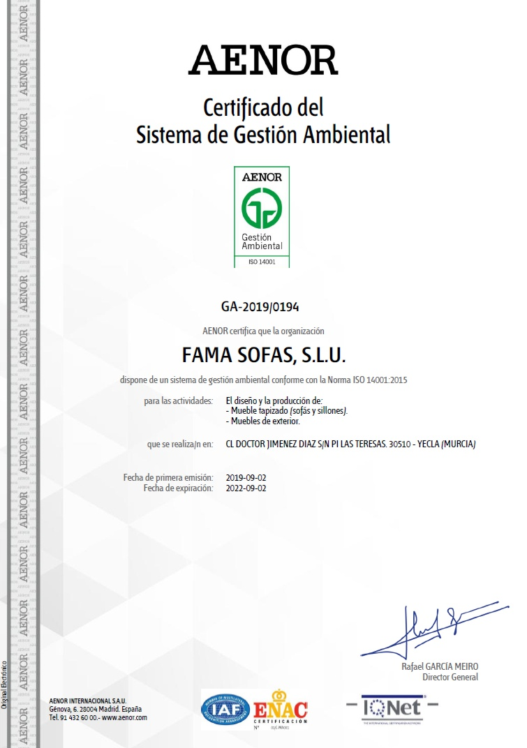 Umweltzertifizierung ISO 14001