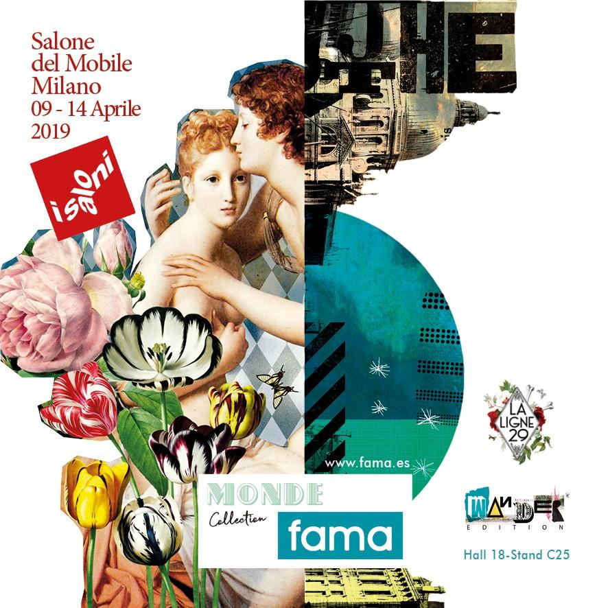 Fama en Isaloni Milán 2019.