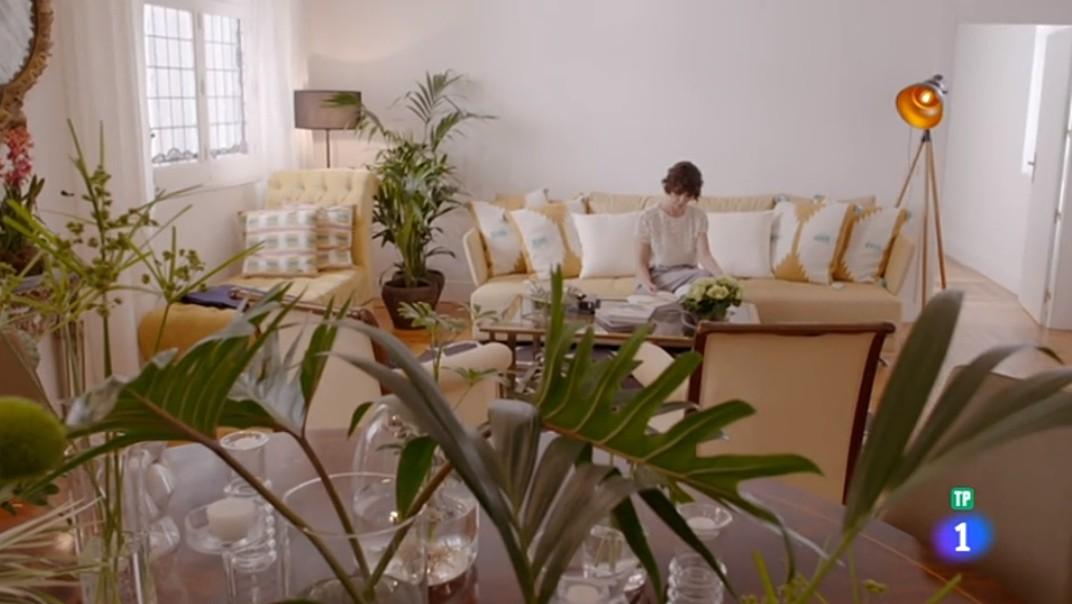 Pacific sofa at Paz Vega's house