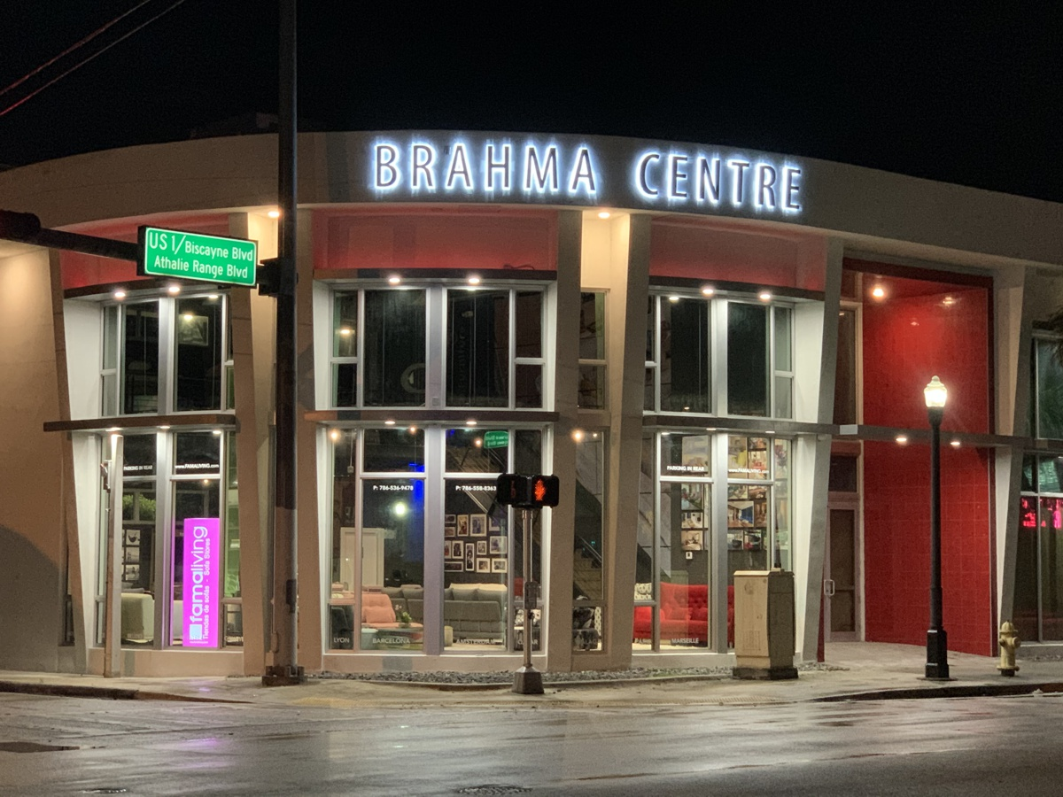 New Famaliving store in Miami.