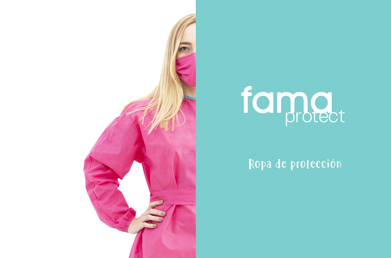FAMA Protect: New protective Gown and new colours available.