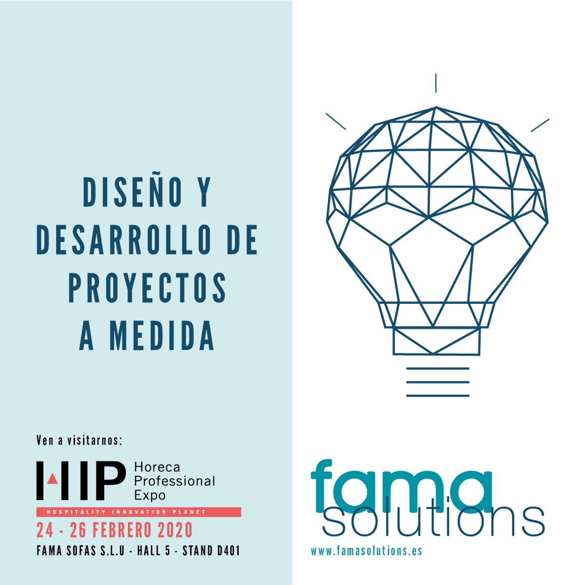 Fama Solutions is coming back to HIP  (Horeca Professional Exhibition)
