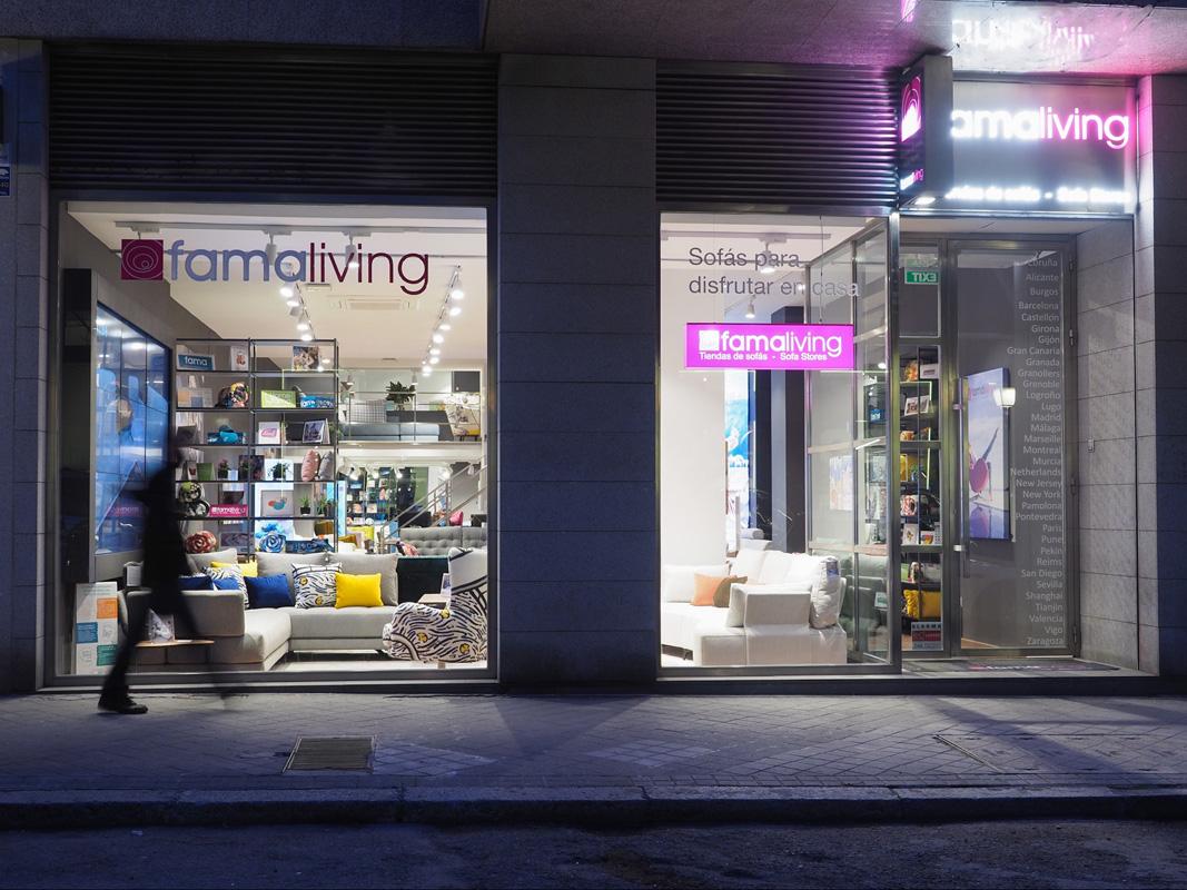 Nueva tienda Famaliving en Madrid.