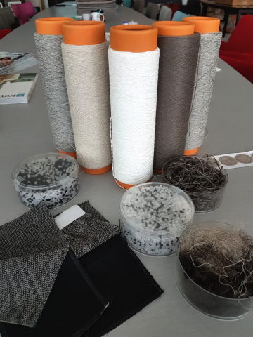 Interesting Training Day with our fabric suppliers, Crevin.