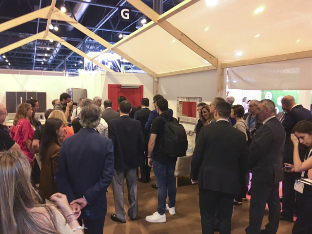 """Fama with """"Fundación ONCE"""" at SIMA 2017"""