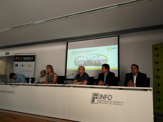 Fama in the conference about Digital Transformation and Industry 4.0